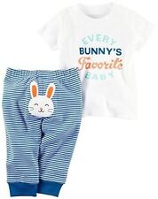 Carter's Every Bunny's Favorite Baby Shirt & Pant Set, 6 Months