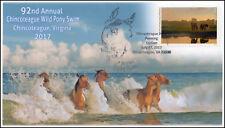 17-274, 2017, Chincoteague Wild Pony Swim,  Event Cover, Pictorial Cancel,