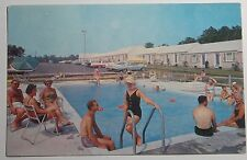 1962 Photo Postcard Country Lake Motel Route 132 Hyannis Cape Cod Mass