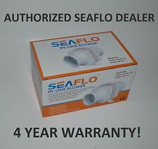 "SEAFLO 12v 3"" In-Line Marine Bilge Air Blower Fan 130 CFM"