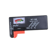 Universal-Batterie-Tester-Werkzeug AA AAA C D 9V Knopf Checker ZubehörWQI