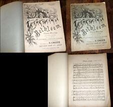 Bethléem drame-mystère partition piano chant 1893 0. Cresté Evreux