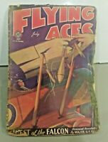 Vintage Flying Aces vol. 9 #2, July 1931 - Quest of the Falcon - Pulp Magazine