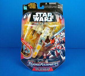 Star Wars Transformers Luke Skywalker X-Wing Fighter Action Figure - Unopened