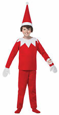 Elf On The Shelf Child Costume Kids Christmas Toy Character Funny Book