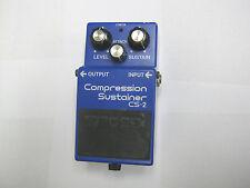 Guitar pedal, Boss CS-2 Compression Sustainer (Japan black label)!