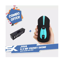 COMBO PACKAGE: JY018 Portable 0.3 MP HD Camera Pocket Drone + Spare Battery