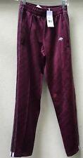 Adidas Alexander Wang Maroon Icon CF1085 Tracksuit Pants Size XXSmall