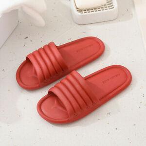 Women Men Slippers Indoor Shower Non-Slip Home Bathroom Comfy Slip On Casual Lot