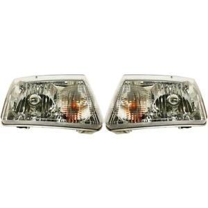 New FO2503173, FO2502173 Headlight Set for Ford Ranger 2001-2011