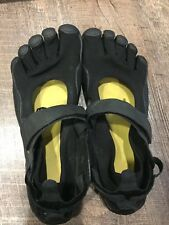 Vibram Fivefingers Flow Size 8 EU Size 40 Terrain Shoes Black Running Minimalist