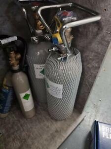 Co2 Anlagen Flasche 4,06kg/2,7Liter ***NEU*** (SIEHE FOTOS) Flasche ist VOLL !!!