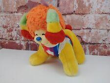 """Vtg Puppy Bright Rainbow Bright Dog 10"""" Plush"""