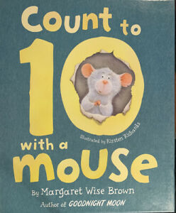 Kids Books: Count to 10 with a Mouse By Margaret Wise Brown (NEW)