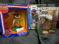 CHICAGO CUBS KERRY WOOD & MARK GRACE AWESOME SET MCFARLANE & STARTING LINEUP WOW