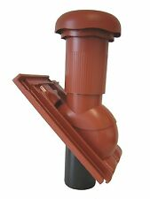 Klöber Sanitärentlüfter Venduct für Doppelmuldenfalzziegel Sanilüfter, Dunstrohr