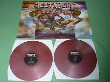 TESTAMENT The Formation Of Damnation 2LP Mixed Red/Silver VINYL GATEFOLD POSTER