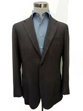 Stile Latino Sport Coat: 40R/41R Gunmetal gray herringbone, 3-button, cashmere