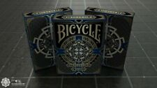 More details for bicycle playing cards deck - sapphire blue - medieval - card collectors