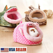 Small Animal Warm Bed Pet Hamster Hammock Hx Pad Nest House Pig Guinea Rat Usa