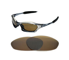 NEW POLARIZED BRONZE REPLACEMENT LENS FOR OAKLEY SPLICE SUNGLASSES