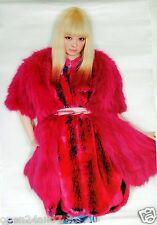 """KYARY PAMYU PAMYU """"RED FUR OUTFIT"""" THAILAND PROMO POSTER - Harajuku Pop Princess"""