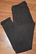 RICH and SKINNY brown denim sz 28 skinny faux front pockets cotton blend