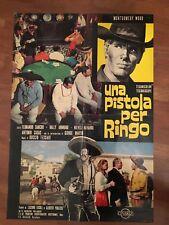 SOGGETTONE.1965,UNA PISTOLA PER RINGO GIULIANO GEMMA  TESSARI western,1 EDIZ.