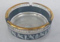 Vintage Collectible Las Vegas Caesars Palace Glass Ashtray Mid Century 1950's