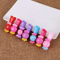 Colorful Kids Hair Clips Hairpins Hair Accessories Girls gift Nice For Baby W4E6
