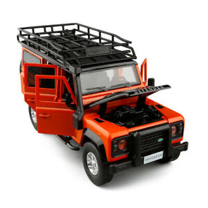 1:32 Scale Land Rover Defender Diecast Model Car Toy Collection Light&Sound Gift