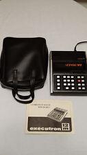 Vintage Executron 12m Calculator - Rare Mint condition w/ instructions