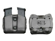 DeSantis Double Pistol Magazine Pouch for Glock 17 19 22 BLACK Double Stack-