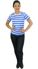 Waist Length Striped Singlepack T-Shirts for Women