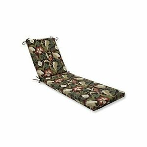 Pillow Perfect Outdoor/Indoor Coventry Cafe Chaise Lounge Cushion 80x23x3Brown