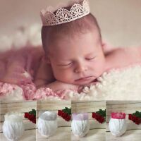 Lace Crown Headband Photography Props Newborn Accessories Baby Hairband
