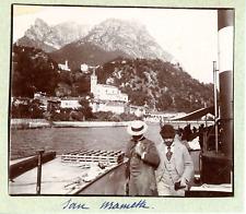 Italie, San Mamette Vintage print, Tirage citrate  7x8  Circa 1897  <div s