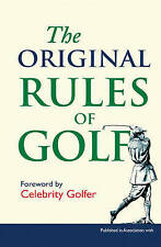 NEW The Original Rules of Golf