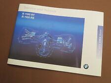 BMW r1100rt r1100rs manuel d'entretien Maintenance instructions service technique (7798336)