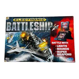 Electronic Battleship Game Lights Sounds Table Top 2012 Hasbro Gaming - New