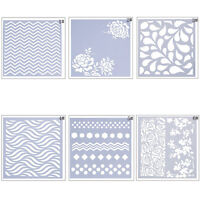 Flower Lace Stencil Mold Cake Fondant Side Baking Cookie Decorating DIY Tool