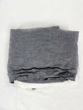 New ListingRestoration Hardware Linen Bedskirt Indigo Full