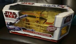 Star Wars - Legacy Collection - Wedge Antilles X-Wing Fighter -Target Exclusive!