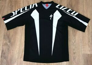 Specialized MTB Cross rare cycling t shirt jersey size L