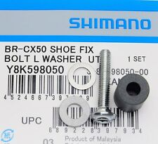 Shimano Cyclocross Cantilever Brake BR-CX50/CX70 Shoe Fixing Bolt (L) & R-Washer