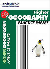 CfE Higher Geography Practice Papers for SQA Exams by Kenneth Taylor, Leckie...