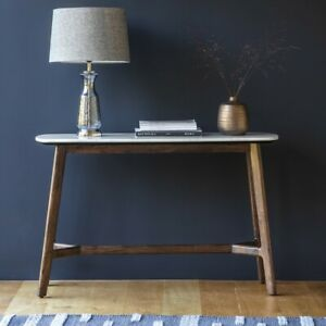 Frank Hudson Gallery Direct Barcelona Marble top Console Table