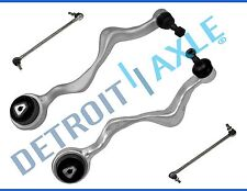 New 4pc Kit: Front Lower Forward Control Arms + Ball Joints and Sway Bar Links