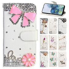 Luxury Bling Leather Phone Case Cover For Samsung S20 Ultra 5G Note 10 Plus/S10