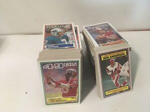 1983 Topps Football Complete Set 396 Cards Marcus Allen Mike Singletary Rookie